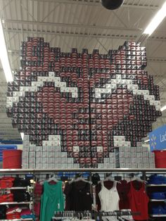 Arkansas State University Red Wolves. Well done Walmart, well done.