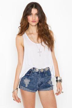 Love these #denim jean shorts #summer #hipsterfashion