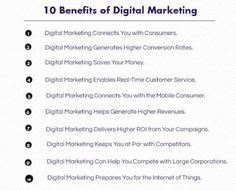 Know the top 10 benefits of #digitalmarketing . See more at…