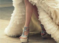 HIGH high heels