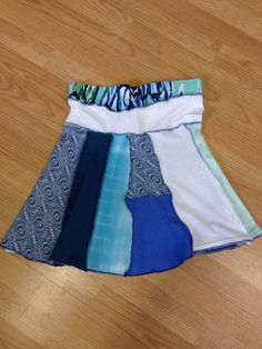 Ladies medium up cycled skirt by 47Sweaters on Etsy