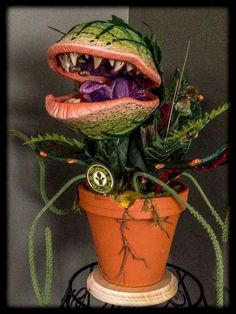 Image result for little shop of horrors plant hunter