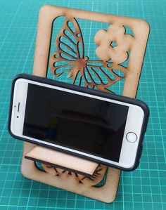 Butterfly Phone Holder Cell Phone Stand, Year 9, Phone Holder, Butterfly, Technology, Ideas, Design, Tech, Tecnologia