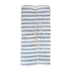 Classic ticking stripes reveal our Flagship Hand Towel's genuine French design, while its fine linen construction shows the quality of ancient woodblock printing techniques in India. Hand Towel Sets, Hand Towels, Vintage Home Decor, Vintage Furniture, Kitchen Shelf Decor, White Bathroom Decor, Ticking Stripe, Living Room Remodel, Open Concept