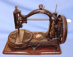 "Named ""The Royal"", this model was produced by The Gardner Sewing Machine Company, in Hamilton, Ontario, during the 1870's / 80's. This particular example is in splendid original condition"