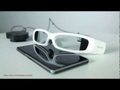 "Sony SmartEyeglass concept: official demo - ""Another Borg-like wearable face computer? Is resistance futile?"" via The Globe and Mail #PUTitON Electronic Compass, Cool Technology, Wearable Technology, Gadget Review, El Google, Google Glass, Sunglasses Case, Tech News, Tech Gadgets"