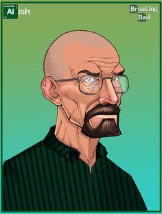 Breaking Bad -Walter 'Heisenberg' White