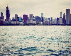 Chicago Cityscape  photographie de Chicago photo par JourneysEye