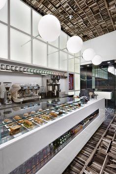 modern contemporary small cafe interior design