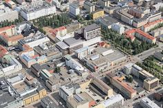 Ilmakuva kauppakeskus Valkeasta. Finland, Paris Skyline, Travel, Trips, Viajes, Traveling, Outdoor Travel, Tourism