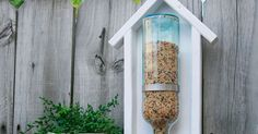 It's time for another installment of The Home Depot Gift Challenge. Today, I am sharing How To Build A Wine Bottle Bird Feeder and the best part is that it isn'…