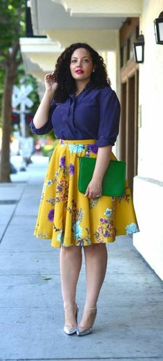 Curvy fashion: idee look (super fashion) per le curvy Plus Size Dresses, Plus Size Outfits, Summer Work Outfits Plus Size, Plus Size Fashion Dresses, Summer Outfits, Winter Outfits, Curvy Girl Fashion, Plus Fashion, Work Fashion