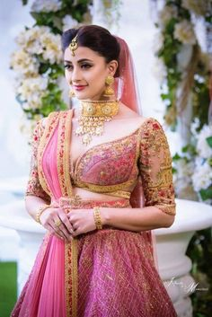 50+ Lehenga Blouse Designs To Browse & Take Inspiration From! | WedMeGood