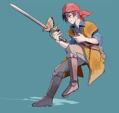 Dragon Quest VIII hero