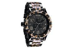 Nixon Leopard Watch Collection