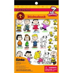 PEANUTS STICKER BOOK