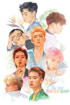#fanart  This is so beautiful   Wish to be talented like the one who made this. Keep it up!! All the credits to the artist ❤️ #exo