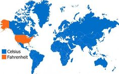 1.) We're too cool to use Celsius.