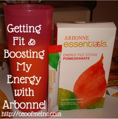 Getting fit and boosting my energy with Arbonne!  These really work with all natural ingredients! Key ingredients are Green Tea, Ginseng, Guarana. B Vitamins and chromium to help boost energy!