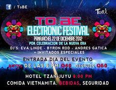 ToBe Electronic Festival @ Panajachel, Guatemala