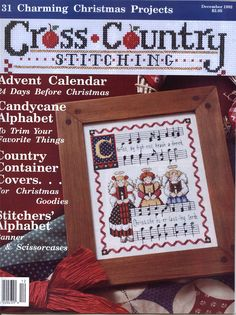 Cross Country Stitching Dec 1992 - full magazine