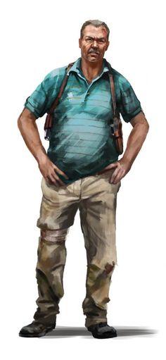 Far Cry 3 - coop character Leonard