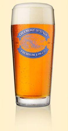 Creemore Springs Premium Lager - on tap Canadian Beer, Canadian Food, Virgin Drinks, Big Screen Tv, Local Brewery, Pints, Pint Glass, Craft Beer, Ontario