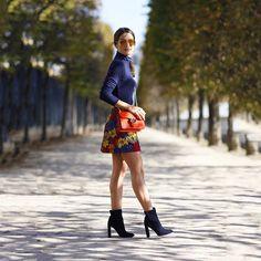 """Full look #fromyesterday!✨ #paris #pfw ------- Look completo de ontem!💛 (Look @aliceandolivia | Bota/boots @dior | Bag/Bolsa @gucci )"" Photo taken by @camilacoelho on Instagram, pinned via the InstaPin iOS App! http://www.instapinapp.com (10/01/2015)"