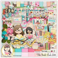 The Book Club Kit by Thaty Borges Designs