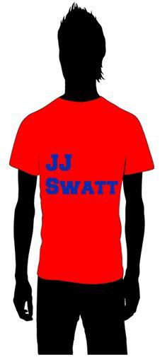 JJ Swatt  JJ Watt  The Houston Texans    for information on how to order email thoseplayertees@gmail.com