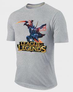 LOL plus size t shirt for mens League of Legends hero KhaZix tee-