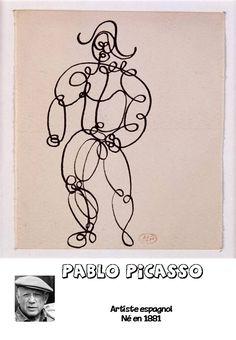 graphisme à partir d'artiste pour les GS Pablo Picasso, Art Plastique, Culture, Change, Photos, Infographic, Art Lessons, Pictures