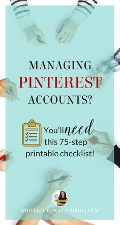 Managing yours or others Pinterest account incorrectly will cost you loss in traffic and sales. The solution? Get this awesome, proven, 14-page step by step guide written by Pinterest Expert Anna Bennett to help you fix the common mistakes businesses and bloggers make. #PinterestMarketingTips