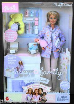 2004 HAPPY FAMILY NEIGHBORHOOD BABY DOCTOR BARBIE