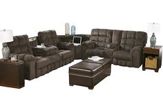 Best Kane S Furniture Dimples 7 Piece Power Reclining 400 x 300