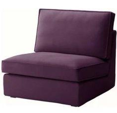New Ikea Kivik Slipcover One Seat Section 1 Sofa Cover Dansbo Lilac 202.111.53 #IKEA #Modern