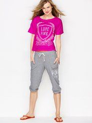 VS PINK Bottoms: Women's Casual Bottoms from Victoria's Secret PINK