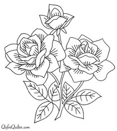 Vintage Embroidery Patterns Vintage Embroidery Transfers – a bunch of different flowers Embroidery Designs, Embroidery Transfers, Hand Embroidery Patterns, Vintage Embroidery, Embroidery Stitches, Machine Embroidery, Coloring Books, Coloring Pages, Lazy Daisy Stitch