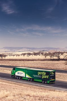 Gentle Giant - Aerodynamically designed to reduce carbon emissions Self Regulation, Gentle Giant, Transportation, Trucks, Technology, Design, Tech, Truck, Tecnologia