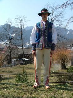 Pieniny Folklore, Poland, Stamps, Bomber Jacket, Culture, Costumes, American, How To Wear, Clothes