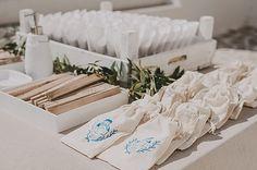 Greek wedding reception favours