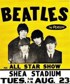 1966 Beatles at Shea Stadium Vintage Look Metal Sign Man Cave Garage, Beatles Poster, The Beatles, Concert Posters, Movie Posters, Concert Signs, Theatre Posters, Shea Stadium, Music Flyer