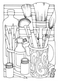free house coloring pages for kids art education pinterest house