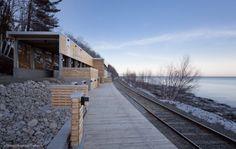 Estación de Trenes Le Massif de Charlevoix / STGM Architectes