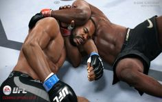 EA SPORTS upcoming UFC 2014, with next gen gaming features