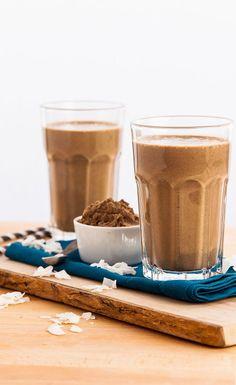 Chocolate Coconut Smoothie #VegaSmoothie