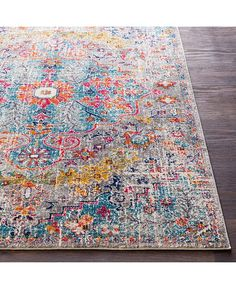 Surya Harput Beige x Area Rug - Multi Beige, Rugs, Mattress Furniture, Floral Motif, Nonslip Rug, Rugs Online, Area Rugs, Floor Decor, Acanthus Leaf