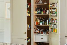 With both traditional and contemporary options available, declutter your kitchen with a stylish larder or pantry