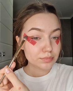 Makeup Eye Looks, Cute Makeup, Skin Makeup, Eyeshadow Makeup, Eyeliner, Makeup Inspo, Makeup Art, Makeup Inspiration, Beauty Makeup