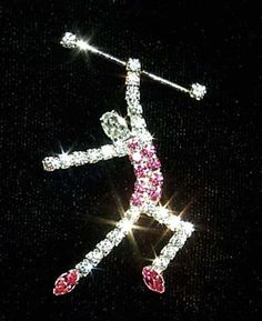 i used to be a baton twirler. and loved it